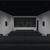 Artcoustic basement home cinema system