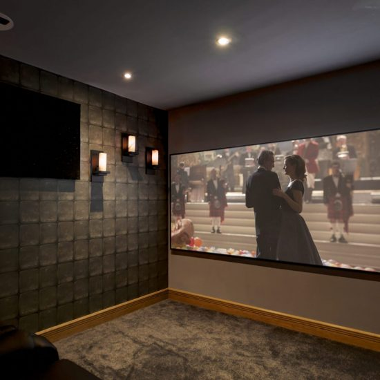 Harry Potter themed - Dedicated Home Cinema